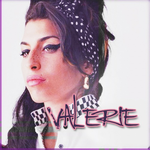 Amy Winehouse, cover Valerie