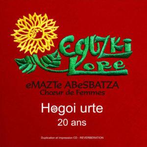 Eguzki Lore «Hogoi Urte» Album